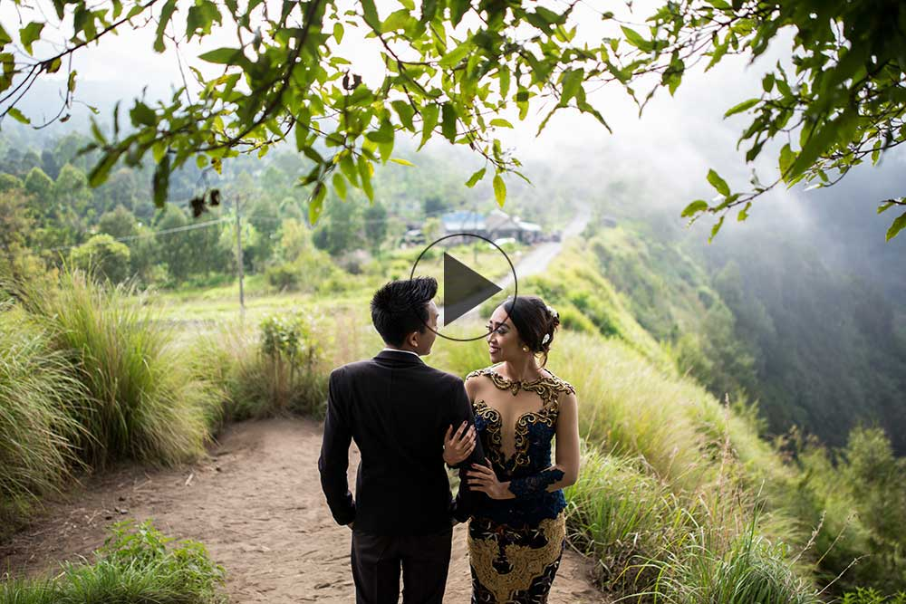 Paket foto video prewedding di bali