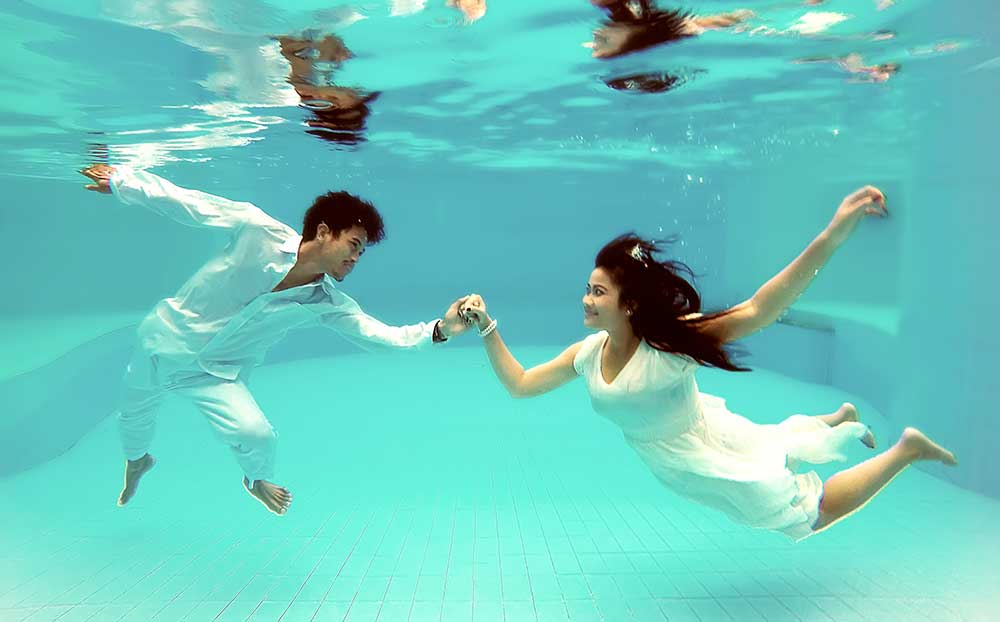 Jasa Foto Video Prewedding Di dalam Air